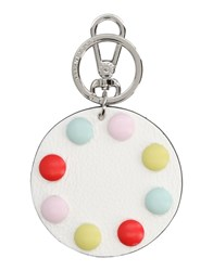 Coccinelle Key Rings White
