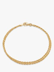 Daisy London Isla Double Chain Bracelet Gold