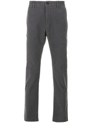 Closed Chino Trousers Cotton Spandex Elastane Grey