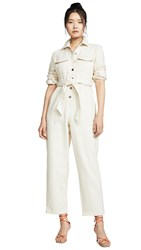 C Meo Collective Reiterate Jumpsuit Chalk