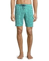 Sovereign Code Cannonball Swim Shorts Coral