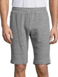 Theory Runnor Axis Terry Sweatshorts Charcoal