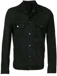 Salvatore Santoro Overshirt Jacket Black