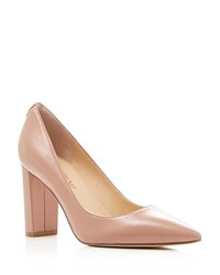 Ivanka Trump Katie Pointed Toe Pumps Dark Natural
