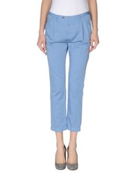 Closed Casual Pants Sky Blue