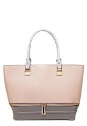 New Look Lola Tote Bag Stone Off White