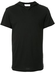 Faith Connexion V Neck T Shirt Black