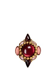 Erickson Beamon 'Hunky Dory' Cabochon Ring Pink