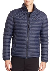 Strellson Quilted Long Sleeve Jacket Navy
