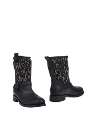 Twin Set Simona Barbieri Footwear Ankle Boots Women Black