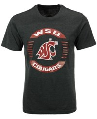Colosseum Men's Washington State Cougars Circle Logo T Shirt Gray