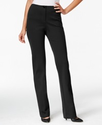 Charter Club Solid Straight Leg Pants