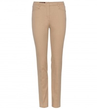 Loro Piana Verenne Cotton Trousers Beige