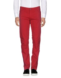 Napapijri Casual Pants Red