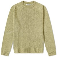 Our Legacy Chunky Raglan Knit Green