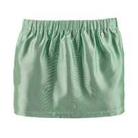 Mcma London Mint Mini Skirt Green