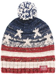 Denim And Supply Ralph Lauren Blue Usa Flag Beanie Denim