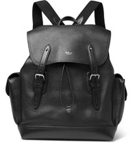 a618ddf54b Mulberry Heritage Full Grain Leather Backpack Black
