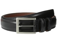 Torino Leather Co. 32Mm Aniline Black Men's Belts