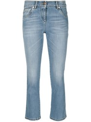Brunello Cucinelli Cropped Jeans Blue