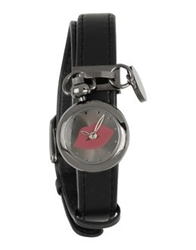 Lulu Guinness Wrist Watches Black