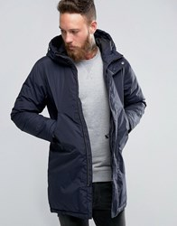 Edwin Fishtail Parka Navy