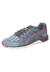 Puma Faas 300 V Cushioned Running Shoes Tradewinds Turbulence Turbulence Grey