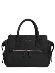 Dsquared Medium Rubberized Top Handle Bag