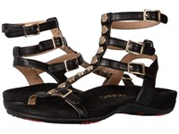 Vionic Sonora Black Sheep Nappa Women's Dress Sandals