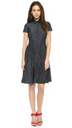 Red Valentino Taffeta Shirtdress