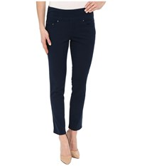 Jag Jeans Amelia Ankle In Bay Twill Nautical Navy Women's Casual Pants