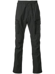 White Mountaineering Side Pockets Trousers Black