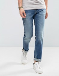 Boss Orange By Hugo Slim Fit Denim Jean In Blue Blue