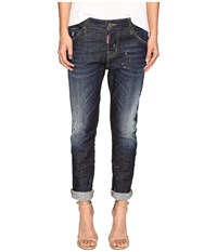 Dsquared Cool Girl Denim In Easy Everyday Wash Blue