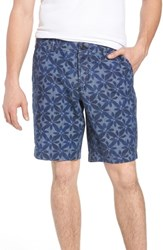 French Connection Franju Floral Cotton Shorts Rinse And Softener
