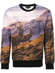 Stella Mccartney Landscape Sweatshirt Black
