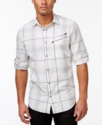 Inc International Concepts Kenny Classic Fit Plaid Shirt Only At Macy's