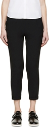 Viktor And Rolf Black Cropped Trousers