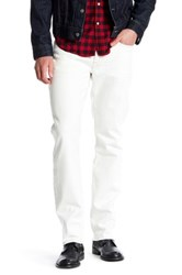 Lucky Brand 121 Heritage Slim Jean White