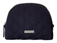 Vera Bradley Medium Zip Cosmetic Classic Navy Cosmetic Case