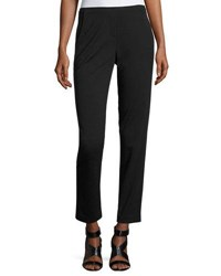 T Tahari Sienna Slim Fit Stretch Pants Black