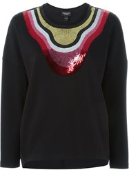 Giambattista Valli Sequin Embellished Sweatshirt