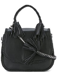Rebecca Minkoff Large Chase Saddle Bag Black