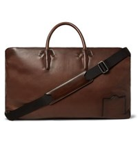 Berluti Leather Holdall Brown