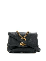 Zanellato Postina Superbaby Crossbody Bag Black
