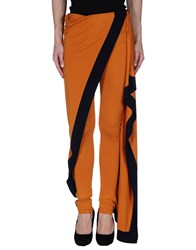 Jean Paul Gaultier Soleil Trousers Casual Trousers Women Orange