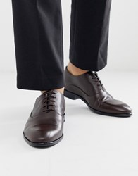 Hugo Appeal Oxford Shoes In Brown