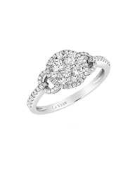 Levian Diamond And 14K White Gold Ring 0.88 Tcw
