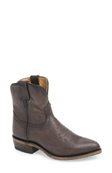Frye 'Billy Short' Pointy Toe Boot Women Smoke Leather