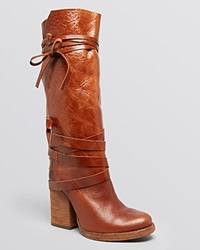 Free People Tall Slouch Boots Royal Rush